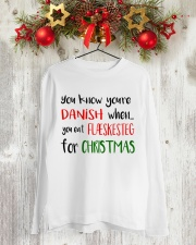 DENMARK FLAESKESTEG CHRISTMAS Long Sleeve Tee lifestyle-holiday-longsleeves-front-2