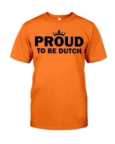 PROUD TO BE DUTCH
