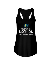 SWEDISH USCH DA Ladies Flowy Tank thumbnail