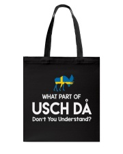 SWEDISH USCH DA Tote Bag thumbnail