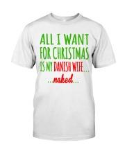 WANT DANISH  WIFE Classic T-Shirt thumbnail