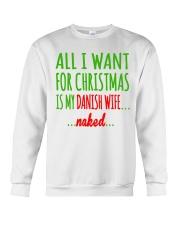 WANT DANISH  WIFE Crewneck Sweatshirt thumbnail