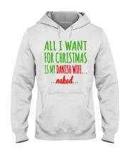 WANT DANISH  WIFE Hooded Sweatshirt thumbnail