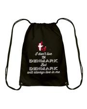 DENMARK LIVE IN ME Drawstring Bag thumbnail