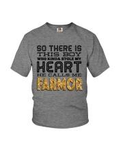 SWEDEN BOY FARMOR Youth T-Shirt front