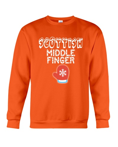 SCOTTISH MIDDLE FINGER