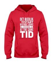 DENMARK TWO LANGUAGE  Hooded Sweatshirt thumbnail