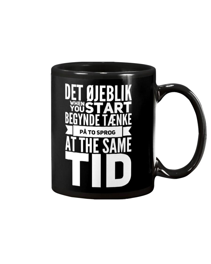 DENMARK TWO LANGUAGE  Mug