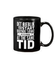 DENMARK TWO LANGUAGE  Mug front