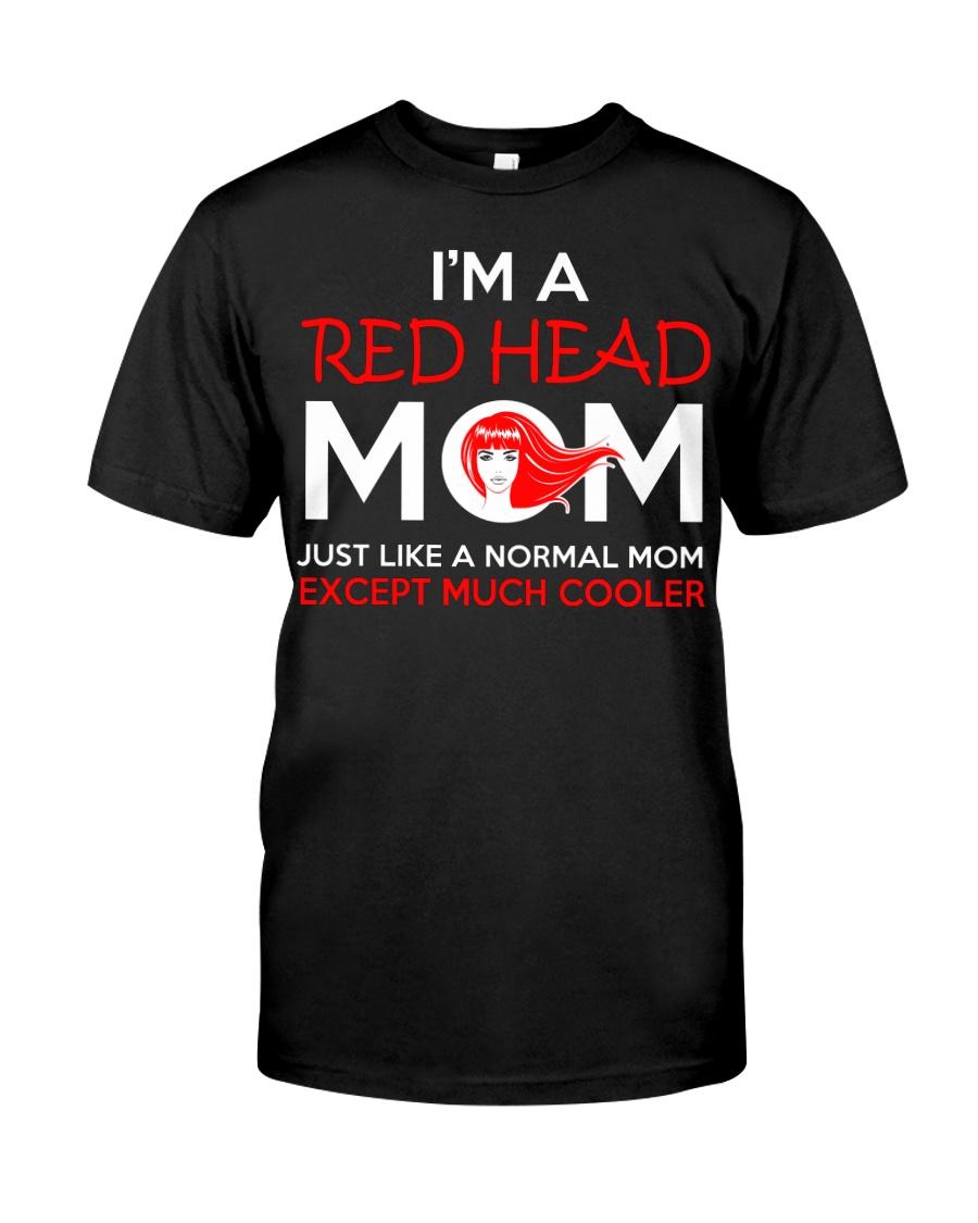 I'M REDHEAD MOM Classic T-Shirt