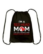 I'M REDHEAD MOM Drawstring Bag thumbnail