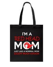 I'M REDHEAD MOM Tote Bag thumbnail