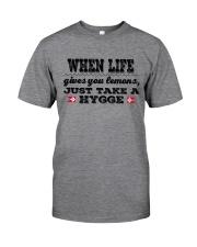 DANISH JUST TAKE A HYGGE Classic T-Shirt thumbnail