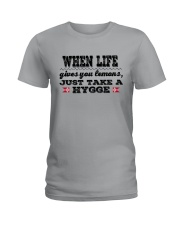 DANISH JUST TAKE A HYGGE Ladies T-Shirt thumbnail