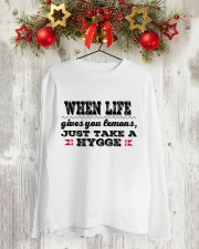 DANISH JUST TAKE A HYGGE Long Sleeve Tee lifestyle-holiday-longsleeves-front-2