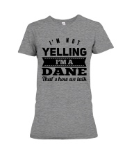 YELLING DANE Premium Fit Ladies Tee thumbnail