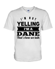 YELLING DANE V-Neck T-Shirt thumbnail