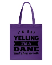 YELLING DANE Tote Bag thumbnail