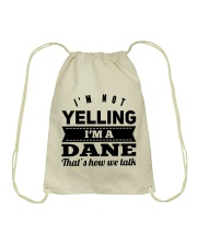 YELLING DANE Drawstring Bag thumbnail