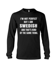 SWEDISH NOT PERFECT Long Sleeve Tee thumbnail