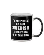 SWEDISH NOT PERFECT Color Changing Mug thumbnail