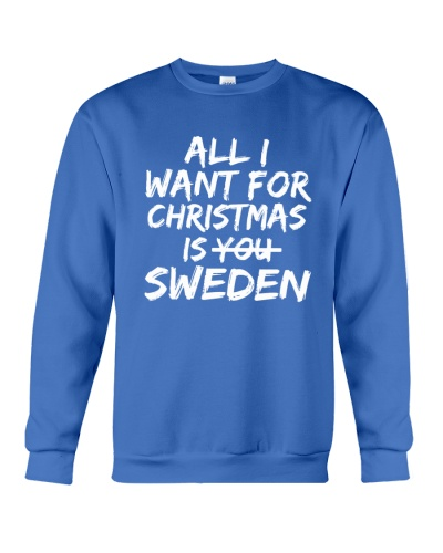 ALL I WANT FOR CHRISTMAS IS SWEDEN