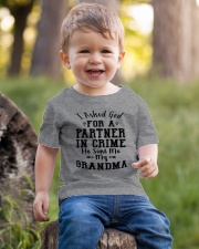 GRANDMA PARTNER IN CRIME EXCLUSIVE DESIGN Youth T-Shirt lifestyle-youth-tshirt-front-4