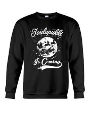 FINNISH - JOULUPUKKI IS COMING Crewneck Sweatshirt thumbnail