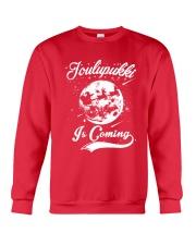 FINNISH - JOULUPUKKI IS COMING Crewneck Sweatshirt front