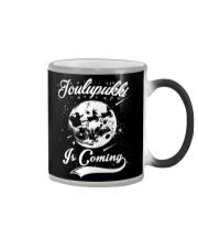 FINNISH - JOULUPUKKI IS COMING Color Changing Mug thumbnail