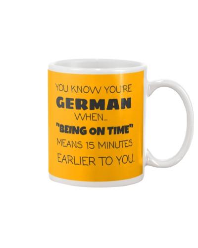 FUNNY GERMAN COFFEE MUG