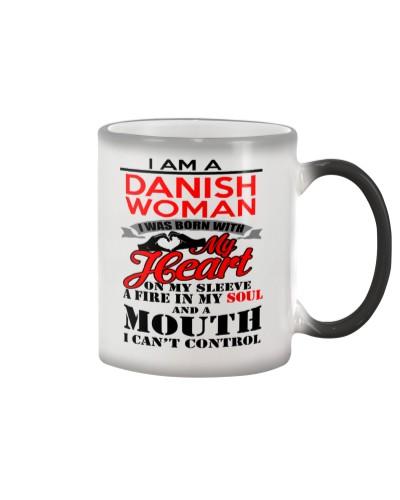 DANISH WOMAN MUG T-SHIRT HOODIE