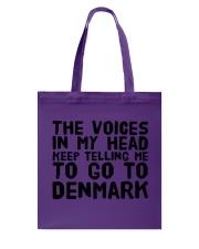 DANISH VOICES Tote Bag thumbnail
