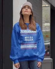 FINNISH XMAS Crewneck Sweatshirt lifestyle-unisex-sweatshirt-front-1