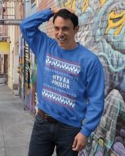 FINNISH XMAS Crewneck Sweatshirt lifestyle-unisex-sweatshirt-front-4