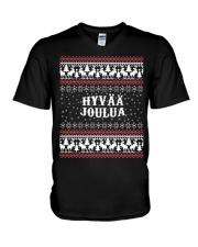 FINNISH XMAS V-Neck T-Shirt thumbnail