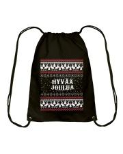 FINNISH XMAS Drawstring Bag thumbnail