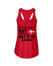 DANISH SAY IT IN Ladies Flowy Tank thumbnail