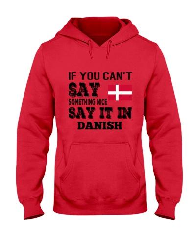 DANISH SAY IT IN