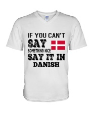 DANISH SAY IT IN V-Neck T-Shirt thumbnail