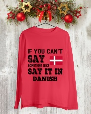 DANISH SAY IT IN Long Sleeve Tee lifestyle-holiday-longsleeves-front-2