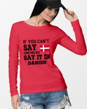 DANISH SAY IT IN Long Sleeve Tee lifestyle-unisex-longsleeve-front-4