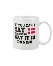 DANISH SAY IT IN Mug thumbnail