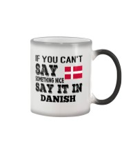 DANISH SAY IT IN Color Changing Mug thumbnail