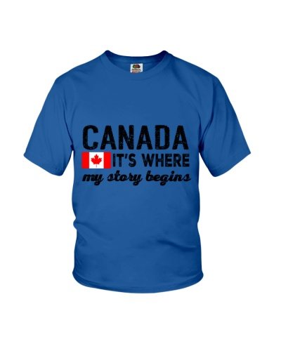 CANADA IT'S WHERE MY STORY BEGINS