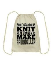 DANISH GRANDMA MAKE FRIKADELLER Drawstring Bag thumbnail