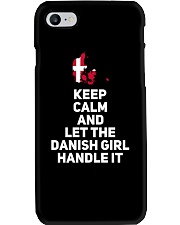 KEEP CALM DANISH GIRL Phone Case thumbnail