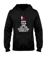 KEEP CALM DANISH GIRL Hooded Sweatshirt thumbnail