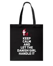 KEEP CALM DANISH GIRL Tote Bag thumbnail