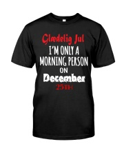 DENMARK GLAEDELIG JUL MUG T-SHIRT HOODIE Classic T-Shirt thumbnail
